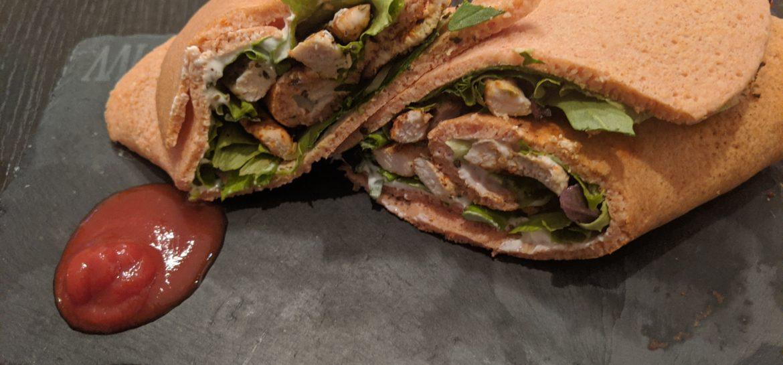 Piadina proteica senza grassi e a ridotto contenuto di carboidrati