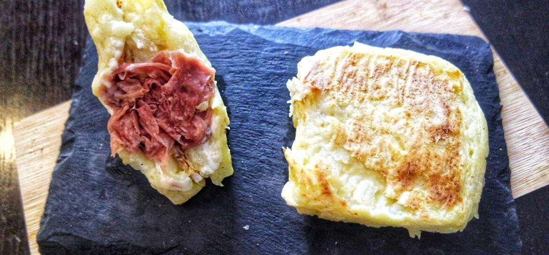 Ricetta fit tramezzino di patate proteico low carb low fat