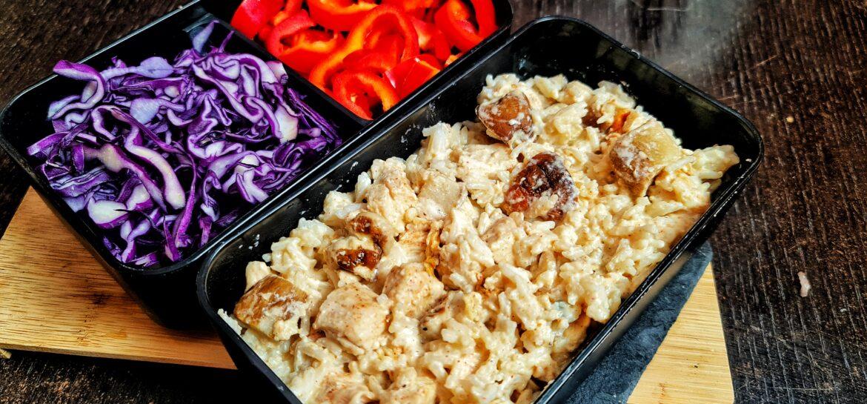 Ricetta fit risotto proteico con pollo e porcini