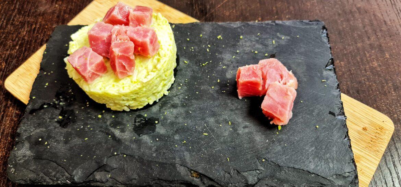 Ricetta fit risotto proteico con tonno e avocado low fat