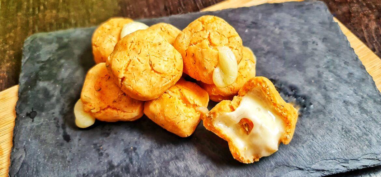 Ricetta fit palline di formaggio ripiene solo 39 kcal