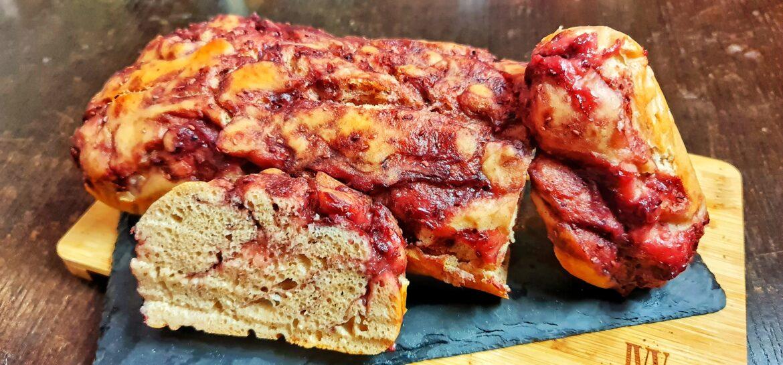 Ricetta fit Pan brioche ai lamponi senza grassi solo 103 kcal