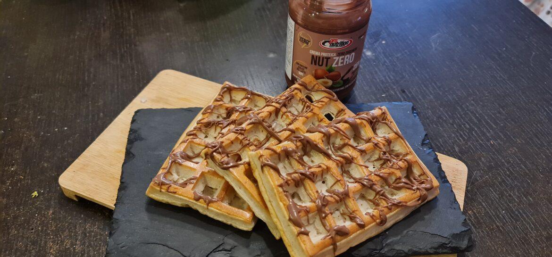 Ricetta fit waffle light proteico allo yogurt senza grassi