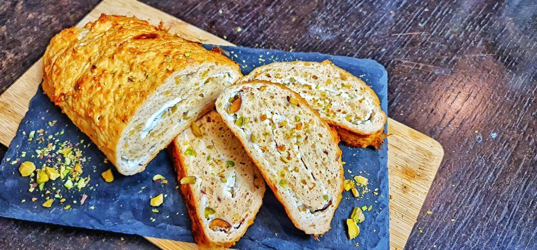 Ricetta fit girella di pollo con pistacchi low carb solo 65 kcal a fetta